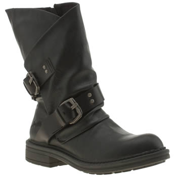 Womens Blowfish Black Forta Boots