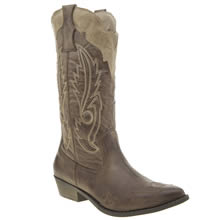 Coconuts Brown & Stone Cimarron Womens Boots