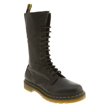 Dr Martens Black 1b99 14-eye Zip Boots