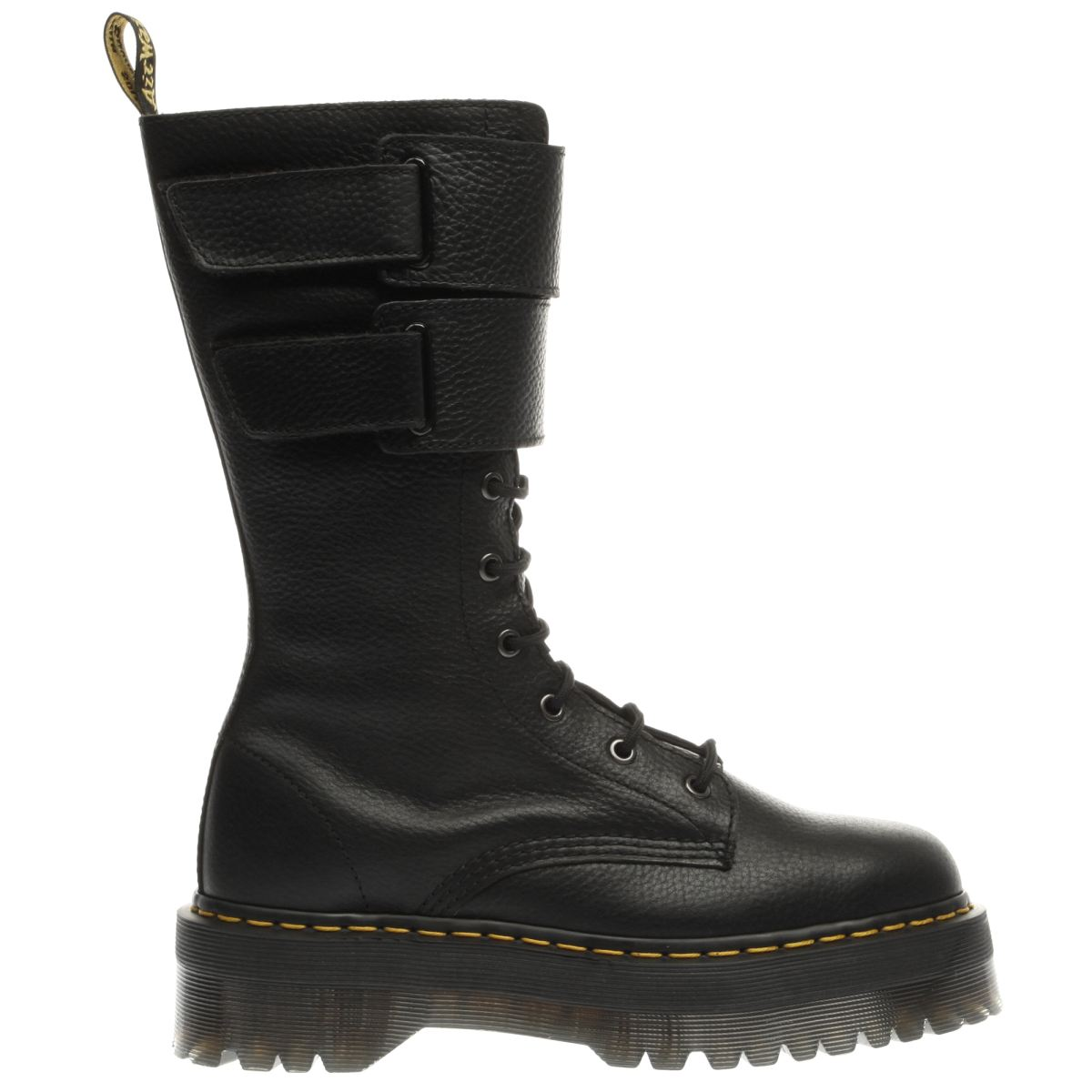 dr martens black jagger 10 eye boot boots