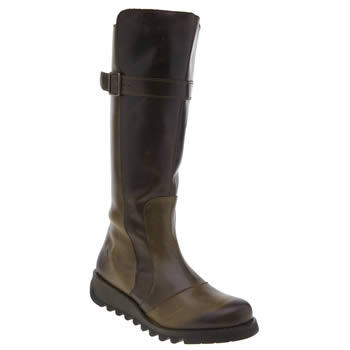Fly London Brown Sada Womens Boots