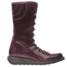 Fly London Purple Ster Womens Boots