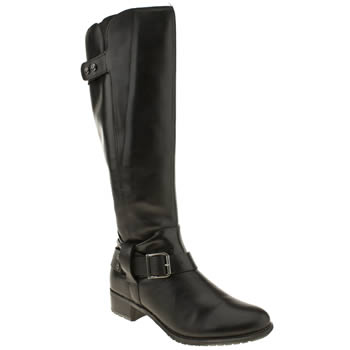 womens hush puppies black chamber tall boots
