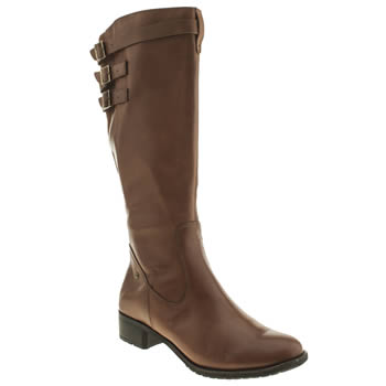 Womens Hush Puppies Tan Leslie Chamber Boots
