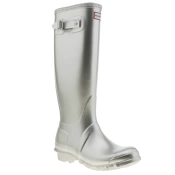 Hunter Silver Original Tall Ii Boots