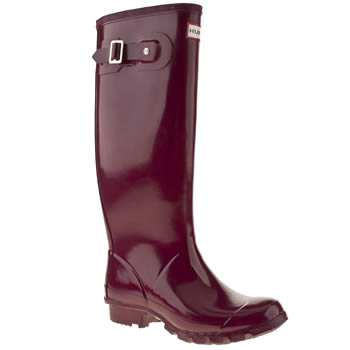womens hunter purple huntress boots