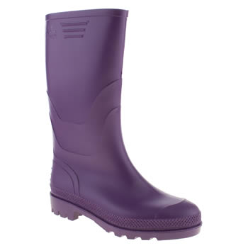 Womens Juju Jellies Purple Vintage Boots