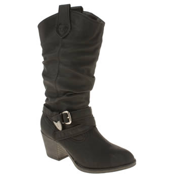 womens rocket dog black sidestep ii boots