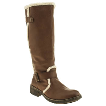 Rocket Dog Tan Teyla Boots