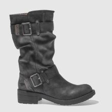 Rocket Dog Dark Grey Trumble Boots