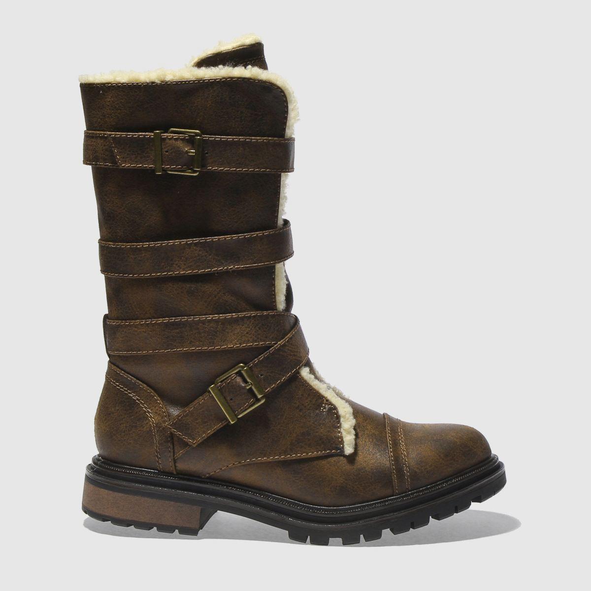 Rocket Dog Brown Lance Boots