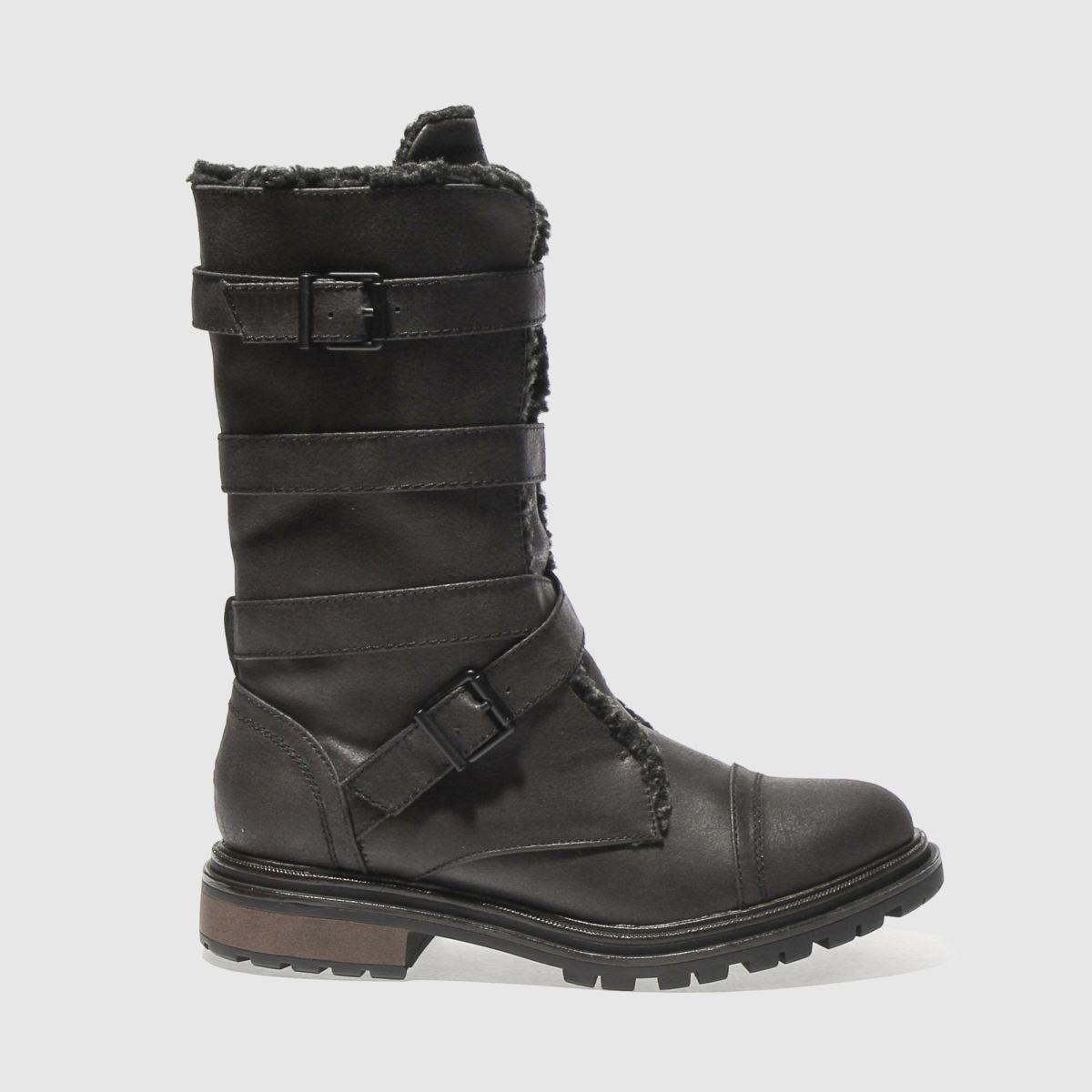 Rocket Dog Black Lance Boots