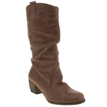 Womens Red Or Dead Tan Meadow Boots