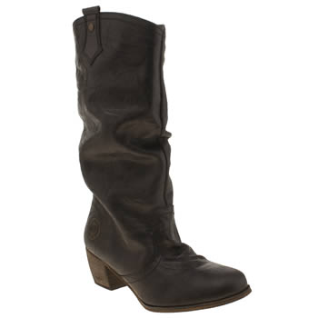 Womens Red Or Dead Black Meadow Boots