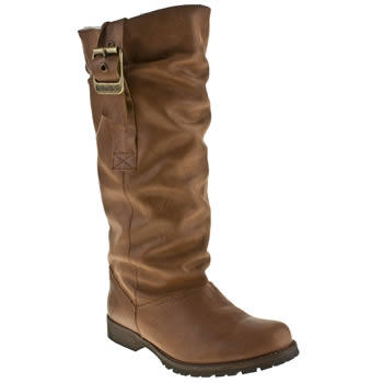 womens red or dead tan summum boots