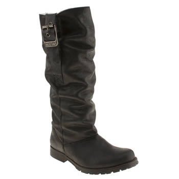 womens red or dead black summum boots