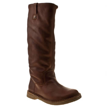 womens red or dead tan tongue in cheek boots