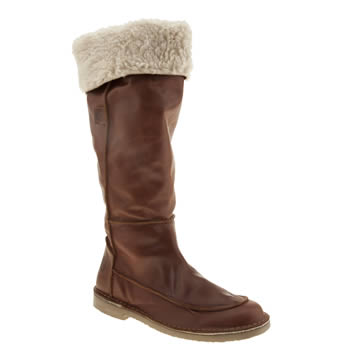 Womens Red Or Dead Tan Playtime Boots