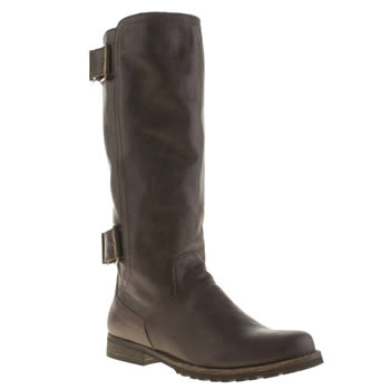 Womens Red Or Dead Brown Stop Boots