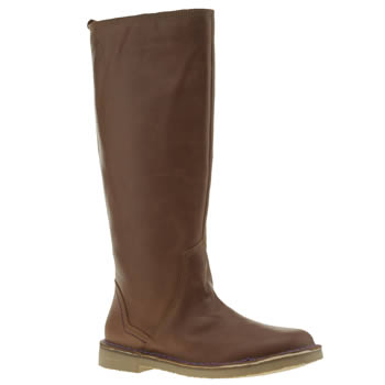 Womens Red Or Dead Tan Free Kitten Boots