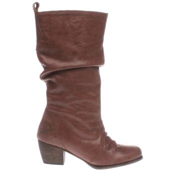 Red Or Dead Tan Marlene Boots