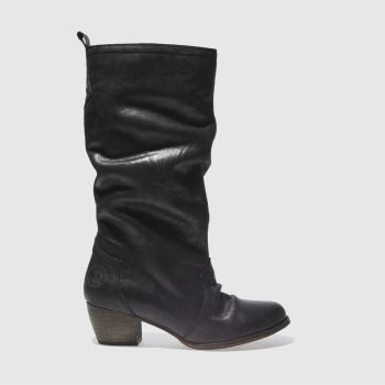 Red Or Dead Black Marlene Boots