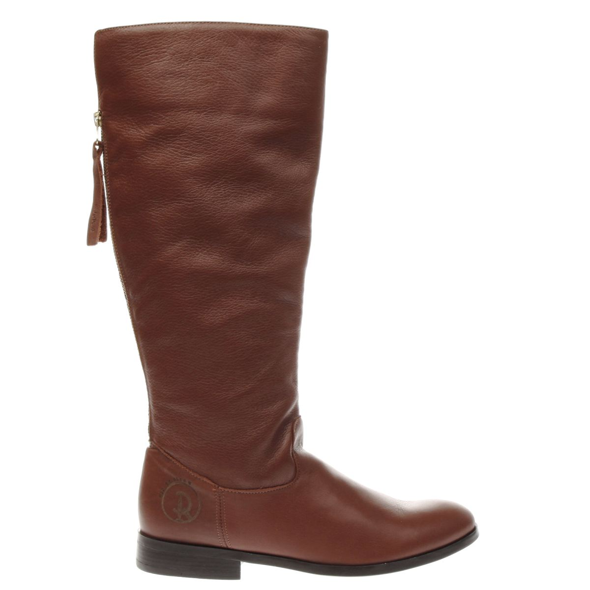red or dead tan tammie boots