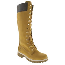 Timberland Natural 14 Inch Premium Womens Boots