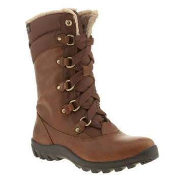 Womens Timberland Brown Mount Hope Boots