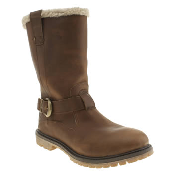 Womens Timberland Tan Nellie Pull-on Waterproof Boots