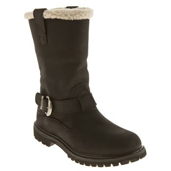 Timberland Black Nellie Pull-on Waterproof Womens Boots