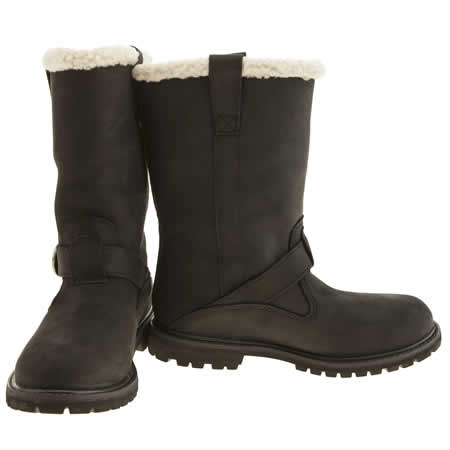 timberland nellie black boots