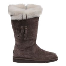 Ugg Australia Dark Brown Plumdale Womens Boots