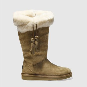 Ugg Tan Plumdale Womens Boots