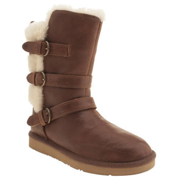 Womens Ugg Australia Tan Becket Boots