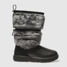 Ugg Black Reykir Waterproof Womens Boots