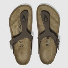Brown Birkenstock Gizeh