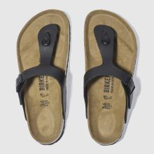 Birkenstock Black Gizeh Womens Sandals