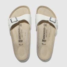 White Birkenstock Madrid