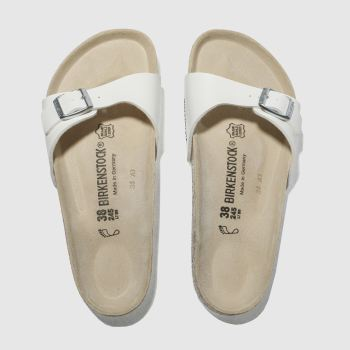 Womens Birkenstock White Madrid Sandals