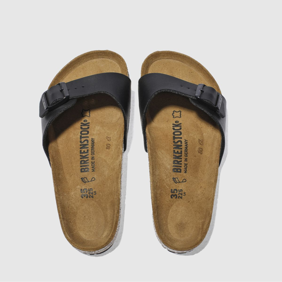 Birkenstock Black Madrid Sandals