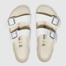 White Birkenstock Arizona