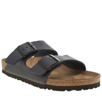 Womens Birkenstock Navy Arizona Sandals