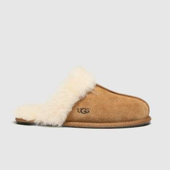 Ugg Australia Tan Scuffette Womens Slippers