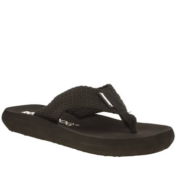 Womens Rocket Dog Black Sunset Sandals