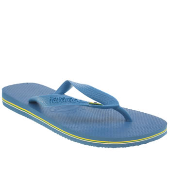 Womens Havaianas Turquoise Brasil Sandals