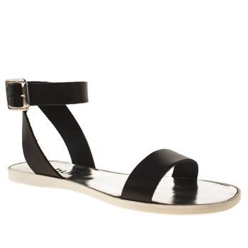 womens schuh black sea shore sandals