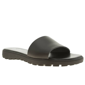 womens schuh black stellar sandals