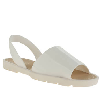 Womens Schuh White Pop Sandals