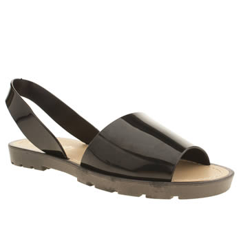 Schuh Black Pop Sandals